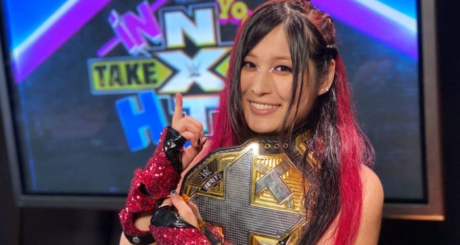 io shirai is the champ