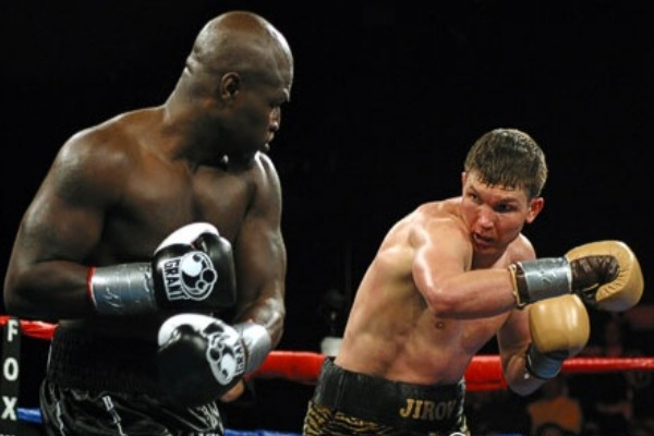 James Toney vs Vasilliy Jirov