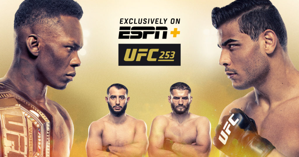 UFC 253 Live Coverage