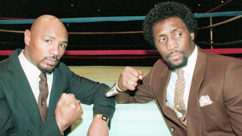 marvin hagler vs thomas hearns