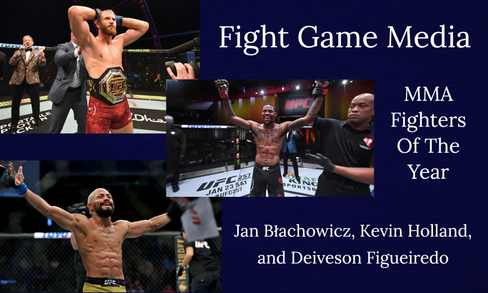 Fight Game Media MMA Fighters Of The Year