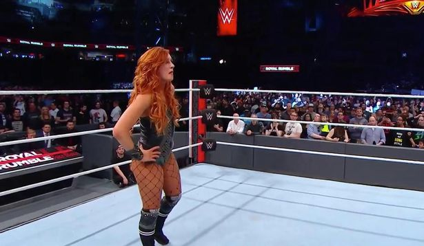 becky lynch royal rumble
