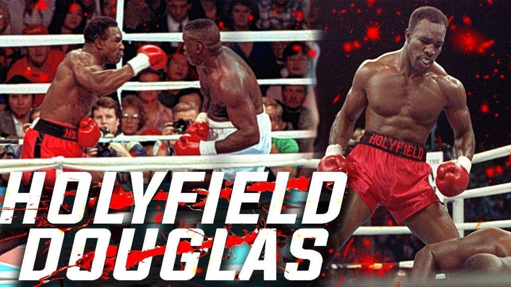 evander holyfield vs buster douglas