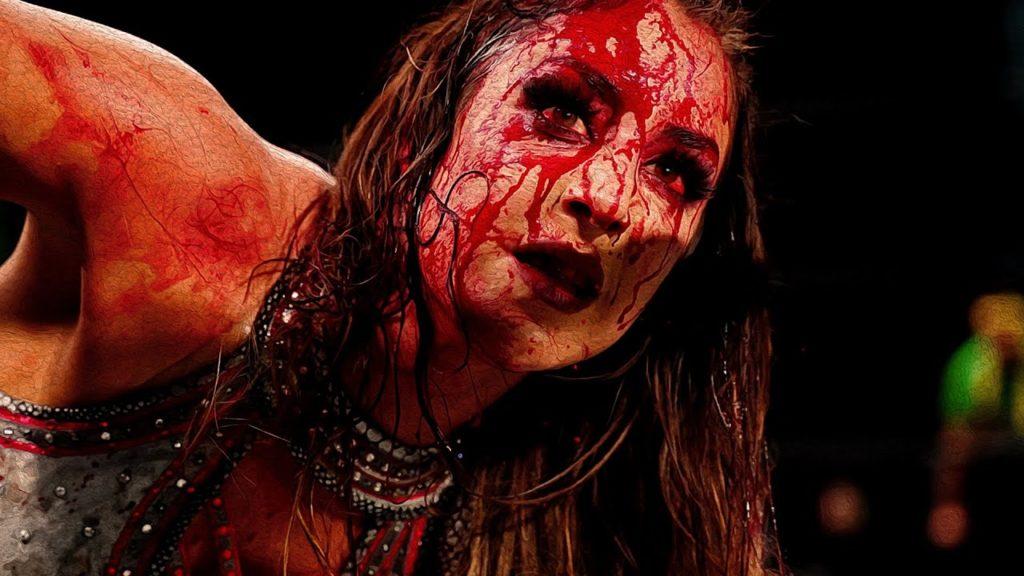 Britt Baker Vs Thunder Rosa