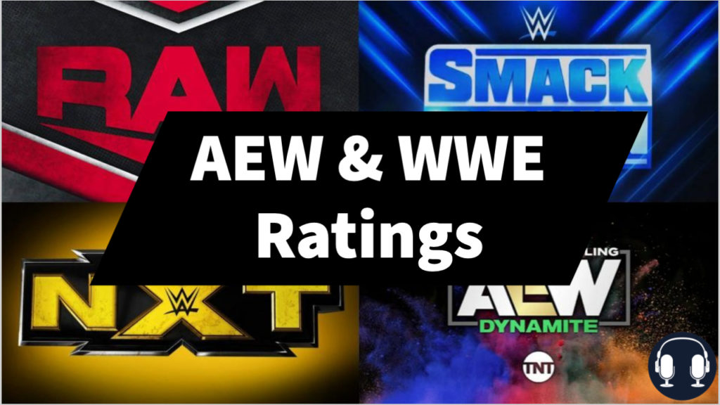 aew and wwe ratings