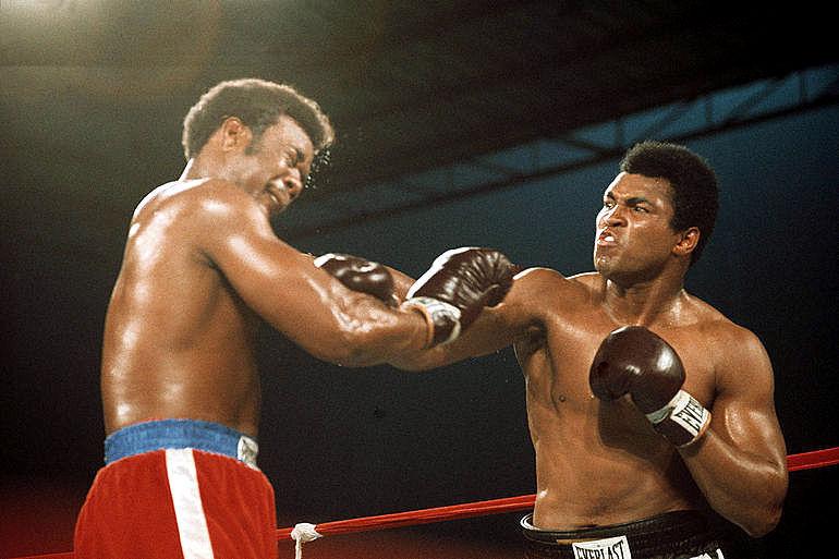 Muhammad Ali vs George Foreman