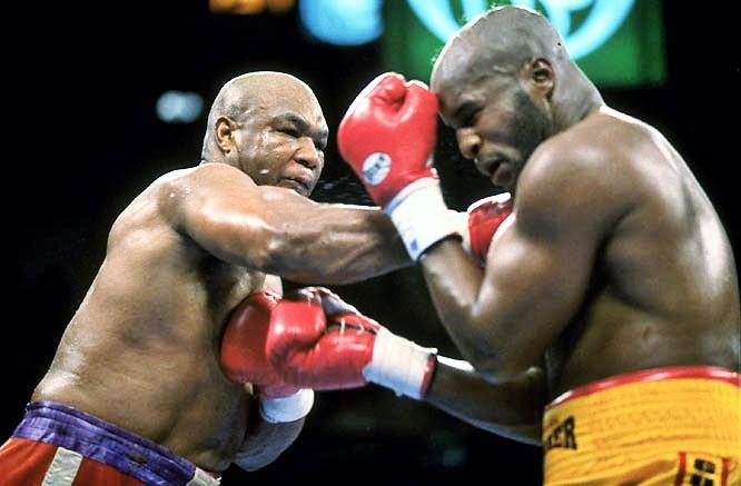 george foreman improbable knockout
