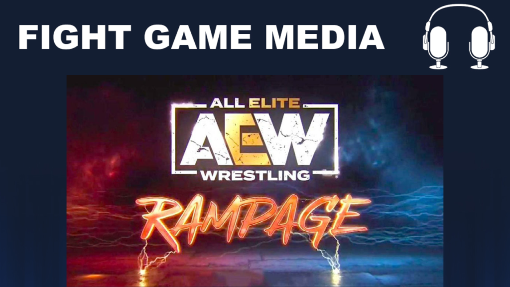 aew rampage debut